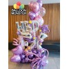 Themed Bouquet - purple theme