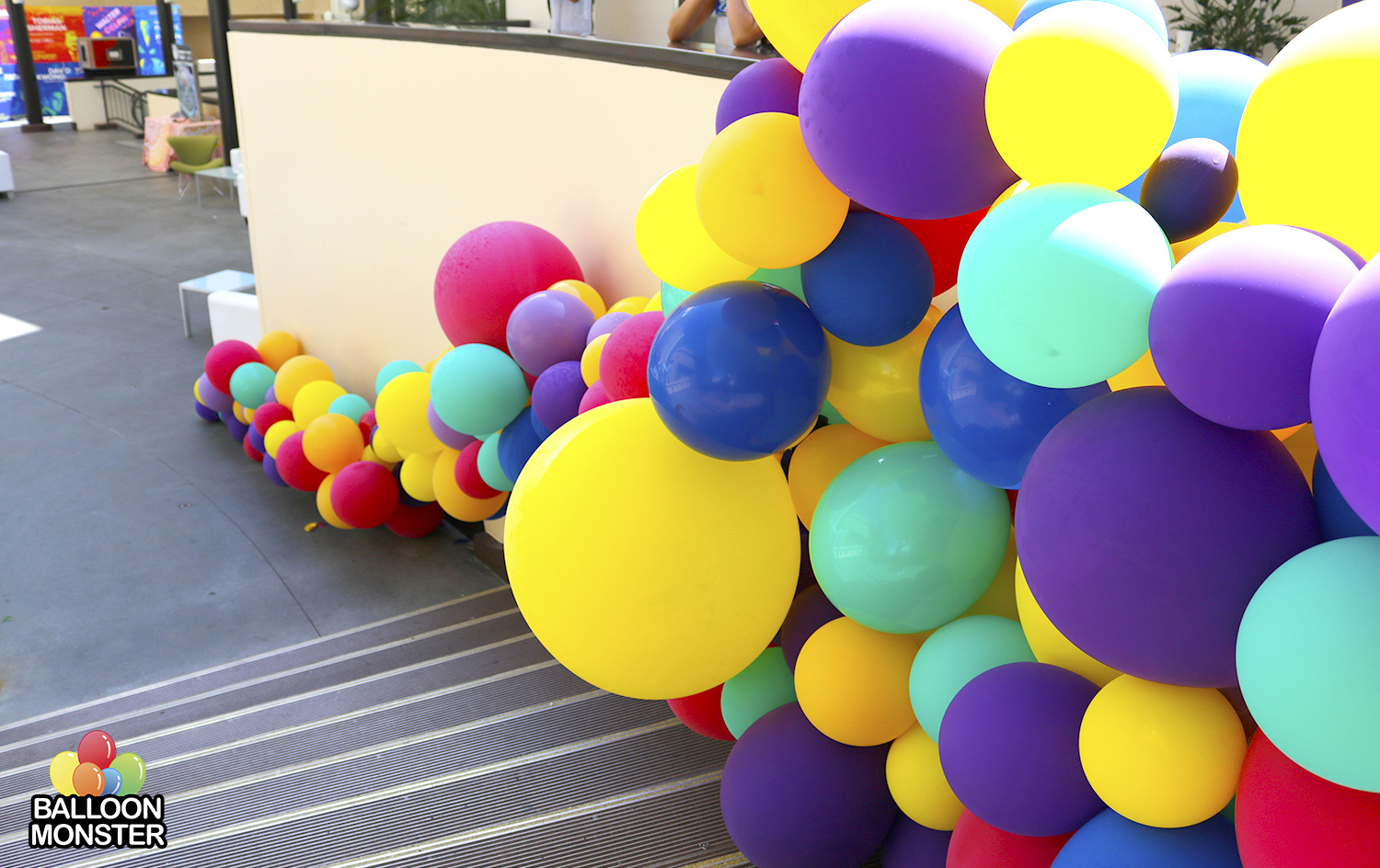 Unique Balloon Grid For Balloon Wall Decoration Composition - Wall ...